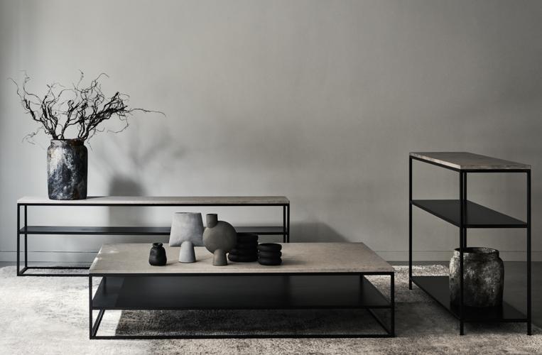 Inredningsbutik Stockholm, skänkar, soffbord med inredning